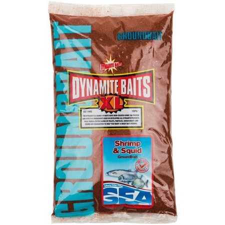 GROUNDBAIT DYNAMITE BAITS SEA GROUNDBAIT SHRIMP AND SQUID