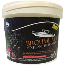 GROUNDBAIT MERIVER MIXED ANCHOVY SARDINES - XBOOST