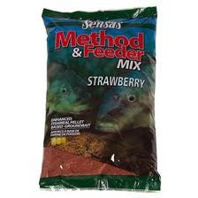 GROUNDBAIT SENSAS METHOD MIX STRAWBERRY