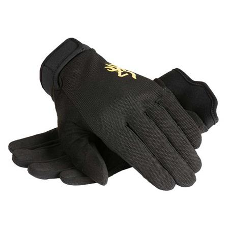 GUANTES HOMBRE BROWNING PROSHOOTER - NEGRO
