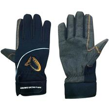 GUANTI UOMO SAVAGE GEAR SG SHIELD GLOVE - NERO