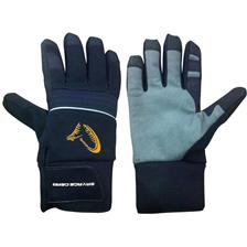 GUANTI UOMO SAVAGE GEAR SG WINTER THERMO GLOVE - BLU