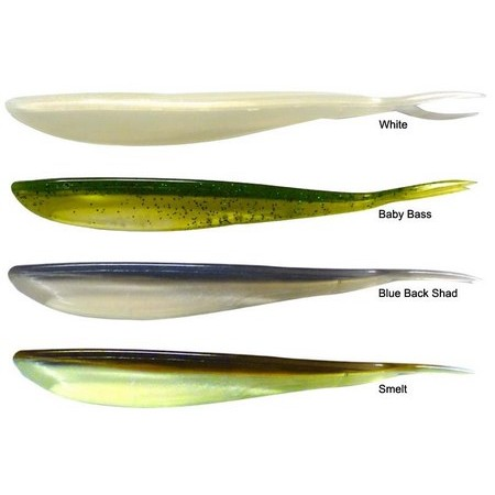 GUMMIFISCH NORTHLAND IMPULSE JERK MINNOW - 6ER PACK