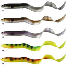 GUMMIFISCH SAVAGE GEAR REAL EEL LOOSE BODY 20 CM - PACK 2+2