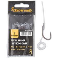 HAKEN MONTIERT BROWNING FEEDER METHOD POWER PELLET BAND - 6ER PACK