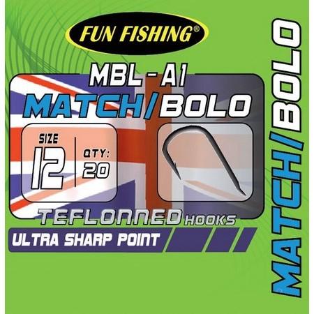 HAMECON ANGLAISE FUN FISHING MBL-A1 - PAR 20