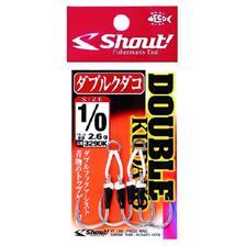 Hooks Shout! DOUBLE KUDAKO N°2/0