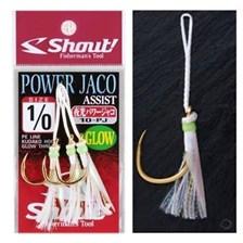 Hooks Shout! POWER JACO GLOW N°4/0