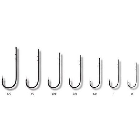 HAMECON CARNASSIER FUDO HOOKS FWSB NICKEL - PACK