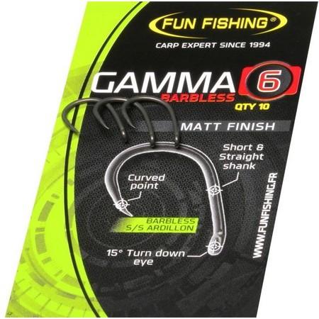 HAMECON CARPE FUN FISHING GAMMA SERIE BARBLESS - PAR 10