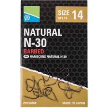 Hooks Preston Innovations NATURAL N 30 N°14