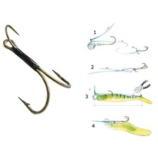HAMECON DOUBLE CARNASSIER MUSTAD LURE RYDER
