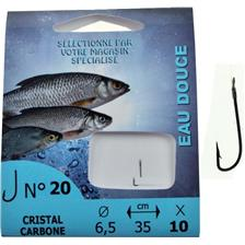 Hooks Pafex HAMECON MONTE COUP CRISTAL CARBONE N°16 10/100