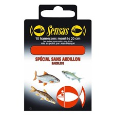 Hooks Sensas HAMECON MONTE COUP SANS ARDILLON N°22 O8/100