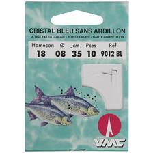 Hameçons Water Queen CRISTAL BLEU SANS ARDILLON 35CM N° 20 10/100