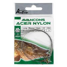 Leaders Autain HAMECON MONTE DOUBLE RYDER ACIER NYLON 30CM N° 2