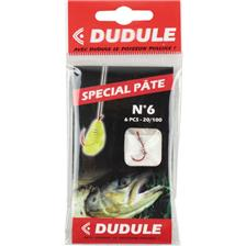 Hooks Dudule HAMECON MONTE SPECIAL PATE A TRUITE N°6