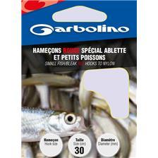 HAMECON MONTE GARBOLINO ROUGE SPECIAL ABLETTE ET PETITS POISSONS - PAR 10