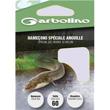 Hooks Garbolino HAMECON MONTE SPECIAL ANGUILLE N°4