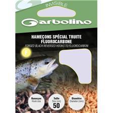 Hooks Garbolino SPECIAL TRUITE FLUOROCARBONE N°12