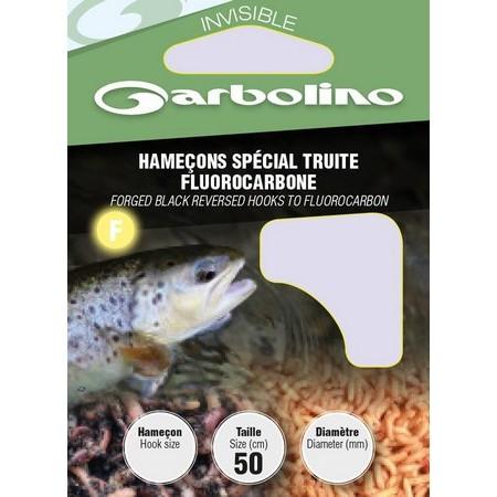 HAMECON MONTE GARBOLINO SPECIAL TRUITE FLUOROCARBONE - PAR 10