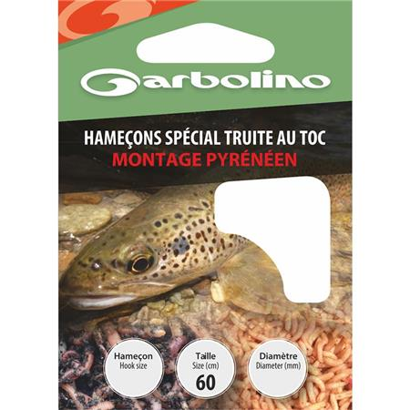 HAMECON MONTE GARBOLINO SPECIAL TRUITE / MONTAGE PYRENEEN - PAR 10
