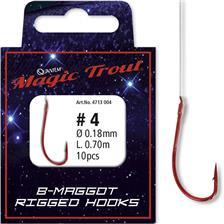 Hooks Magic Trout B MAGGOT N°6 70CM
