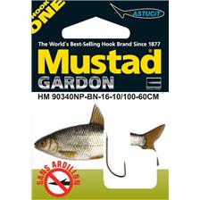 Hooks Mustad HM 90340NP BN GARDON N°20 10/100