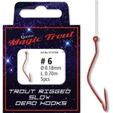 TROUT RIGGED SLOW DEATH HOOKS 4714006
