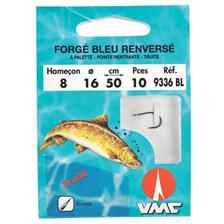 Water Queen  HAMECON MONTE TRUITE FORGE BLEU RENVERSE 9336 BL N°10 14/100