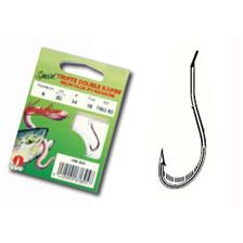 Hooks Water Queen HAMECON MONTE TRUITE DOUBLE BARBE N° 8 14/100