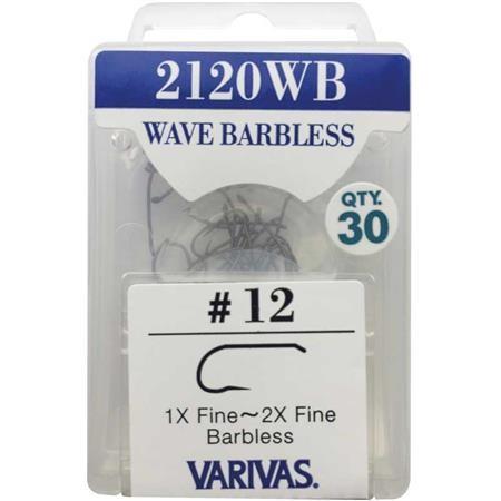 HAMECON MOUCHE VARIVAS WAVE BARBLESS 2120 WB - PAR 30