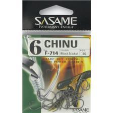 Hooks Sasame CHINU BLACK NICKEL HOOK N°4