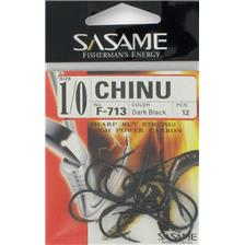 Hooks Sasame CHINU DARK BLACK HOOK N°4