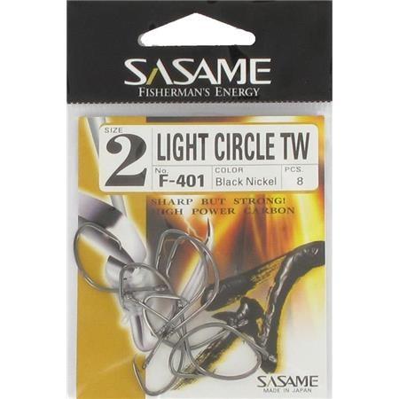 HAMECON SASAME LIGHT CIRCLE BLACK NICKEL HOOK