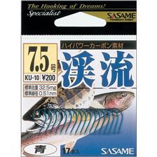 Hooks Sasame KEIRYU HOOK BLEU TAILLE N°6