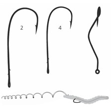 HAMECON SIMPLE MUSTAD ULTRAPOINT SLOW DEATH 33862NP-RB - PAR 10