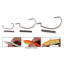 Hooks Savage Gear 4PLAY WEEDLESS HOOKS TAILLE M