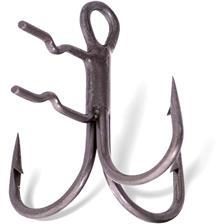 Hooks Quantum CLAW TREBLE HOOKS N°2/0