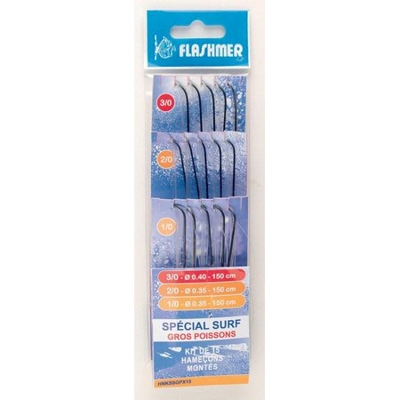 HAMECONS MONTES FLASHMER SPECIAL SURF GROS POISSONS - PAR 150