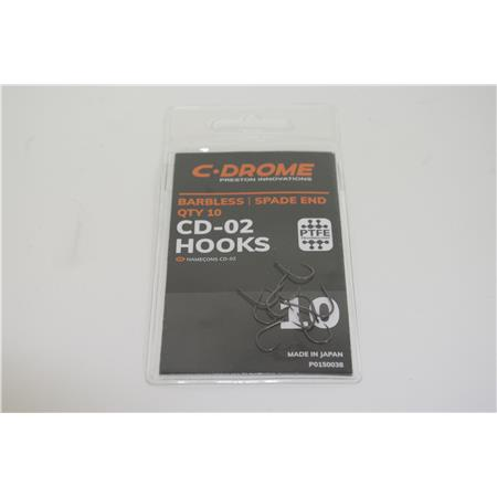 HAMECONS PRESTON INNOVATIONS CD 02 HOOKS TAILLE 10 - P0150038 OCCASION