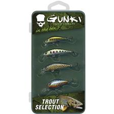 HARD LURE KIT GUNKI BOX-TROUT SELECTION