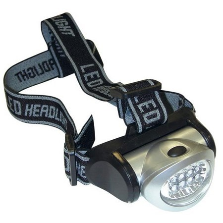 HEADLAMP 8 LED AUTAIN
