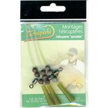 HELICOPTER RIG TECHNIPÊCHE LIGHT - PACK OF 3