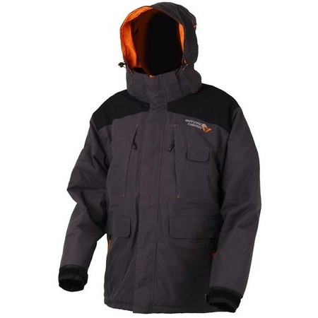 HEREN JACK SAVAGE GEAR PROGUARD THERMO JACKET - GRIJS