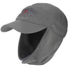 HEREN PET EIGER FLEECE EAR CAP - GRIJS