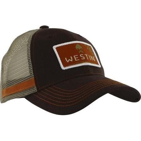 HEREN PET WESTIN HILLBILLY TRUCKER CAP - BRUIN