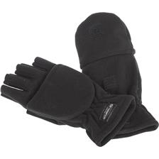 HERRENHANDSCHUHE RON THOMPSON COMBI FLEECE GLOVE SCHWARZ