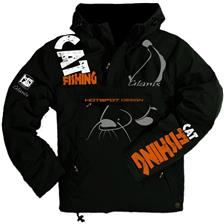 HERRENJACKE HOT SPOT DESIGN CAT FISHING SCHWARZ