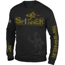 HERRENPULLOVER HOT SPOT DESIGN SPINNER SCHWARZ